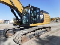 Equipment photo CATERPILLAR 349E L KETTEN-HYDRAULIKBAGGER 1