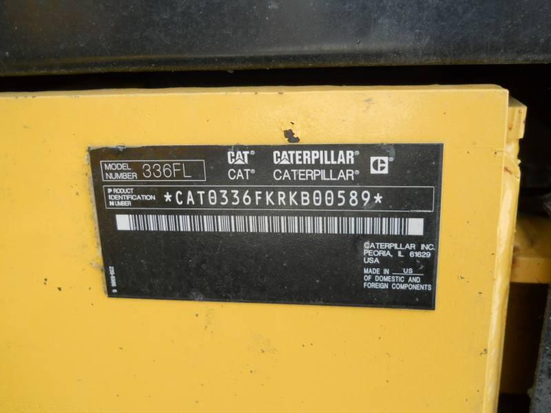 CATERPILLAR TRACK EXCAVATORS 336FL equipment  photo 24