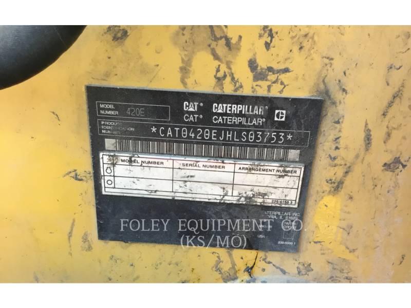 CATERPILLAR CHARGEUSES-PELLETEUSES 420E equipment  photo 6