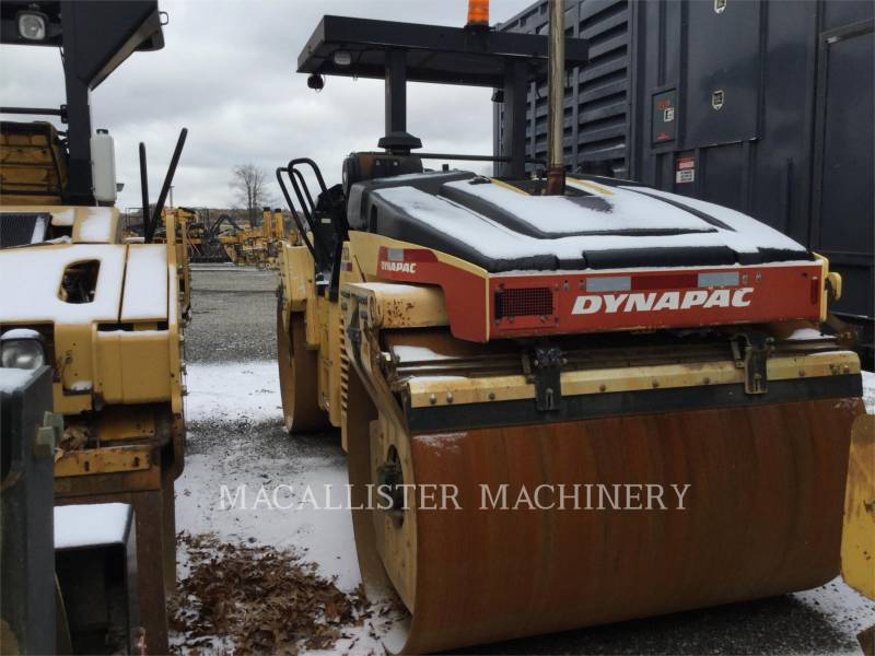DYNAPAC VIBRATORY DOUBLE DRUM ASPHALT CC522VHF equipment  photo 3
