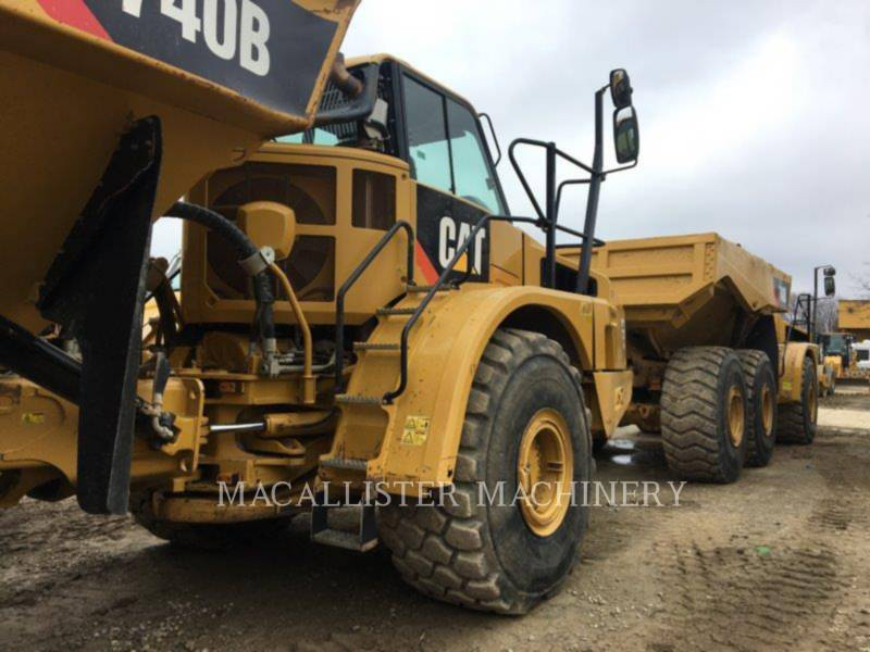 CATERPILLAR CAMINHÕES ARTICULADOS 740B equipment  photo 6