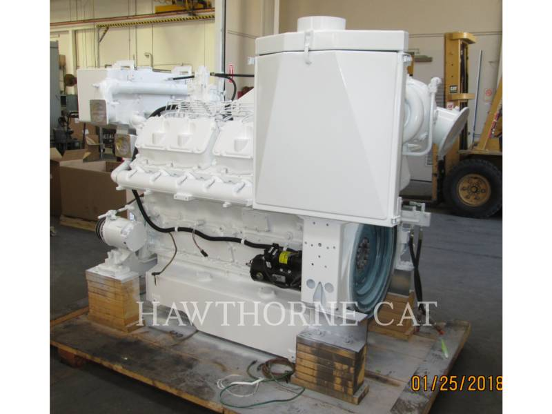 CATERPILLAR MARINE PROPULSION / AUXILIARY ENGINES 3412C DITA equipment  photo 4