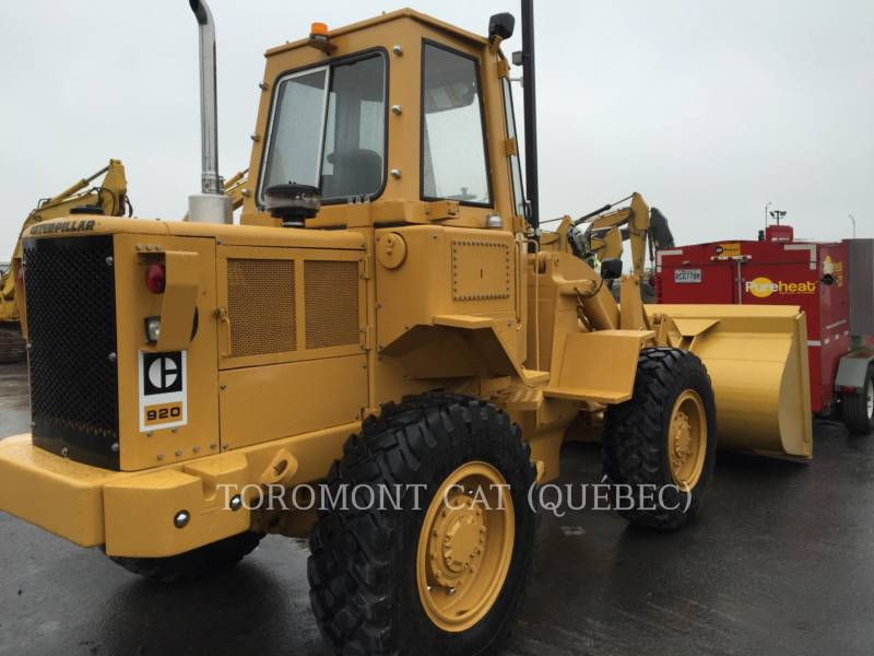 CATERPILLAR CARGADORES DE RUEDAS 920 equipment  photo 4
