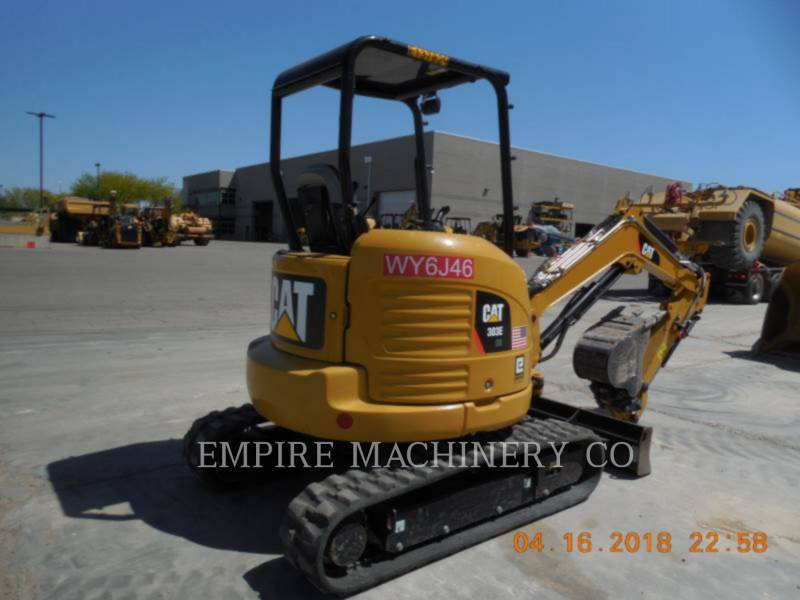 CATERPILLAR EXCAVADORAS DE CADENAS 303E OR equipment  photo 2