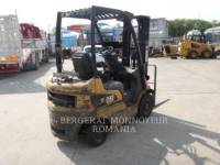 MITSUBISHI CATERPILLAR FORKLIFT CHARIOTS À FOURCHE GP15N equipment  photo 1