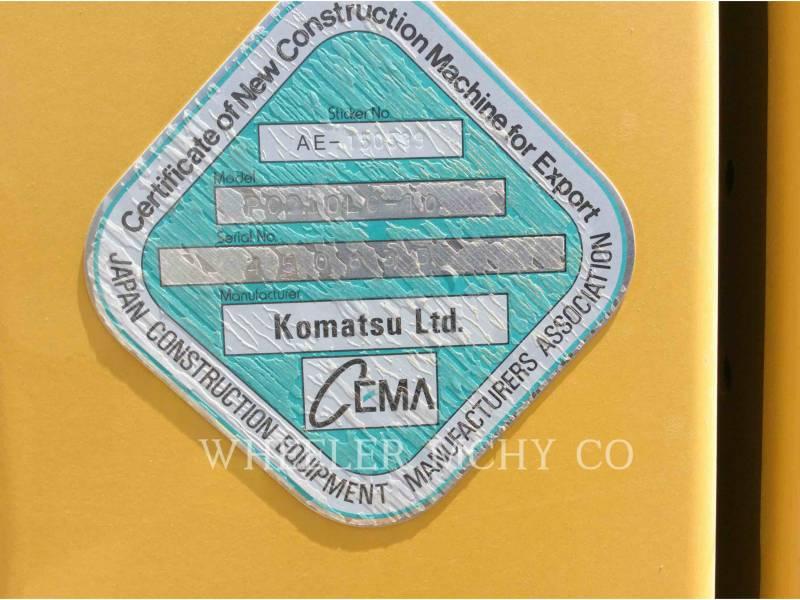 KOMATSU TRACK EXCAVATORS PC210-LC10 equipment  photo 6