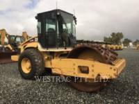 Equipment photo CATERPILLAR CS-563E VIBRATORY SINGLE DRUM SMOOTH 1