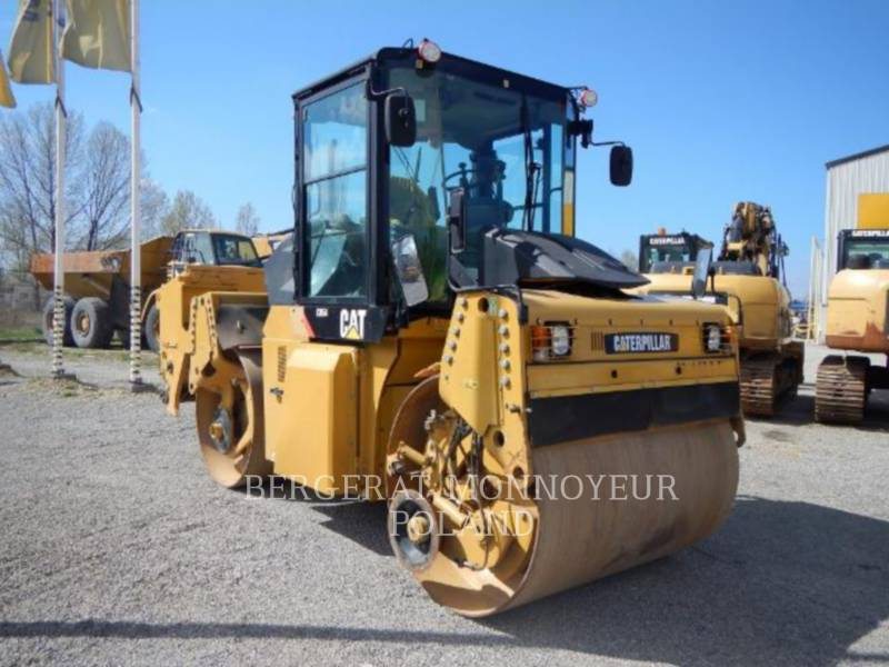 CATERPILLAR COMPACTEURS TANDEMS VIBRANTS CD54 equipment  photo 1