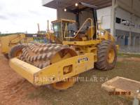Equipment photo CATERPILLAR CP56 VIBRATORY SINGLE DRUM PAD 1