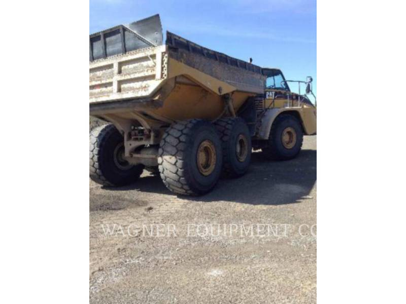 CATERPILLAR KNIKGESTUURDE TRUCKS 740 equipment  photo 3
