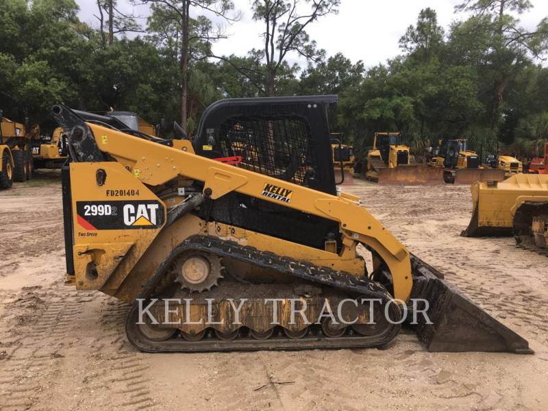 CATERPILLAR CHARGEURS TOUT TERRAIN 299D2 equipment  photo 7