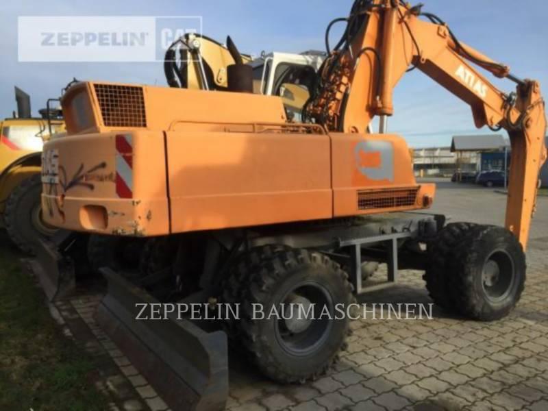 ATLAS KOPARKI KOŁOWE 1604 equipment  photo 3