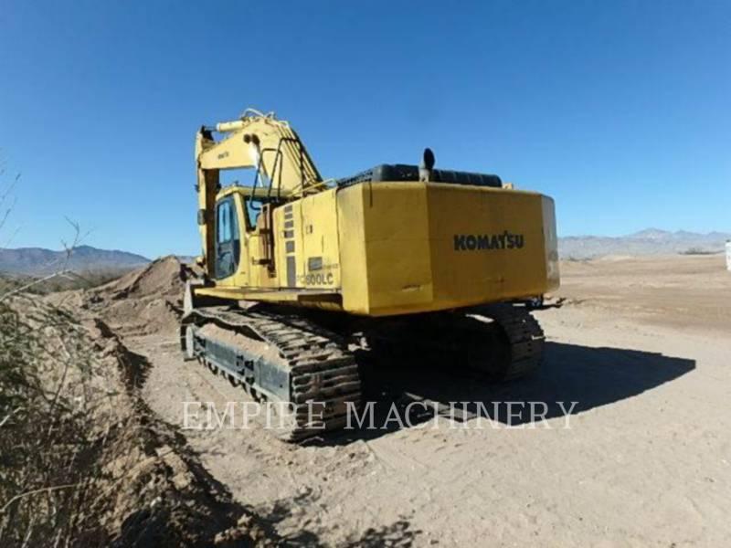 KOMATSU LTD. ESCAVATORI CINGOLATI PC600LC equipment  photo 4
