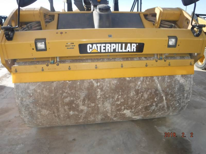 CATERPILLAR VIBRATORY DOUBLE DRUM ASPHALT CB64 equipment  photo 5