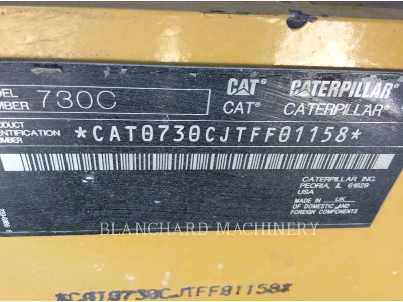 CATERPILLAR CAMIONES ARTICULADOS 730C equipment  photo 6