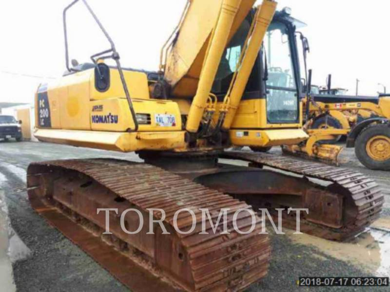 KOMATSU LTD. KETTEN-HYDRAULIKBAGGER PC200 equipment  photo 4