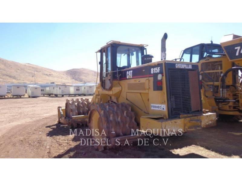 CATERPILLAR コンパクタ 815F equipment  photo 3