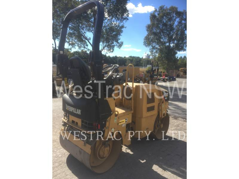 CATERPILLAR COMPACTEURS TANDEMS VIBRANTS CB22 equipment  photo 3