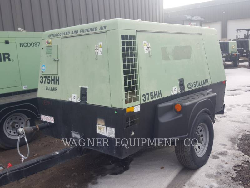 SULLAIR LUCHTCOMPRESSOR 375HHAF equipment  photo 1