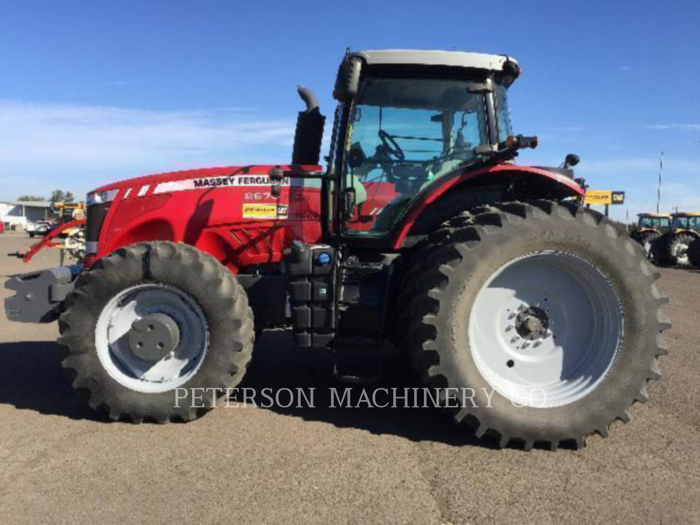 Detail photo of 2012 Massey Ferguson MF8670 from Construction Equipment Guide