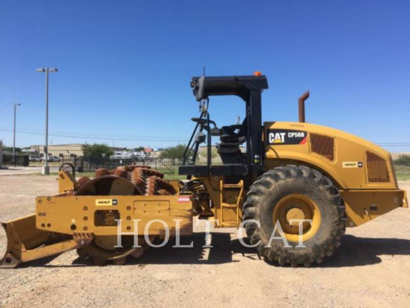 CATERPILLAR VIBRATORY SINGLE DRUM ASPHALT CP56B equipment  photo 5