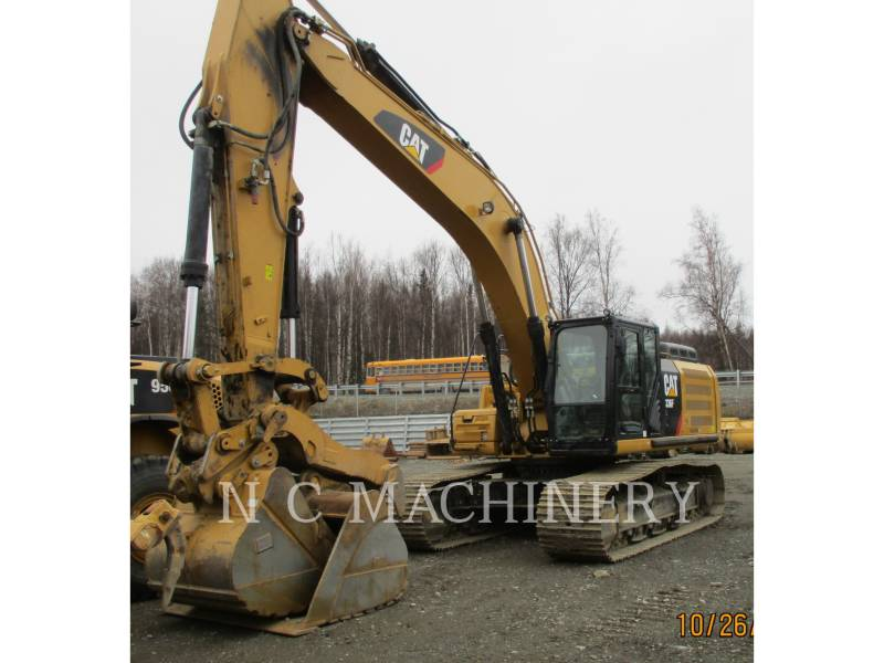 CATERPILLAR KETTEN-HYDRAULIKBAGGER 336FL equipment  photo 1