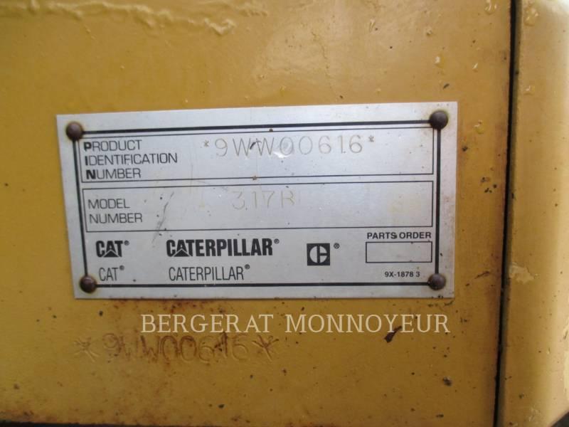 CATERPILLAR PELLES SUR CHAINES 317B equipment  photo 20
