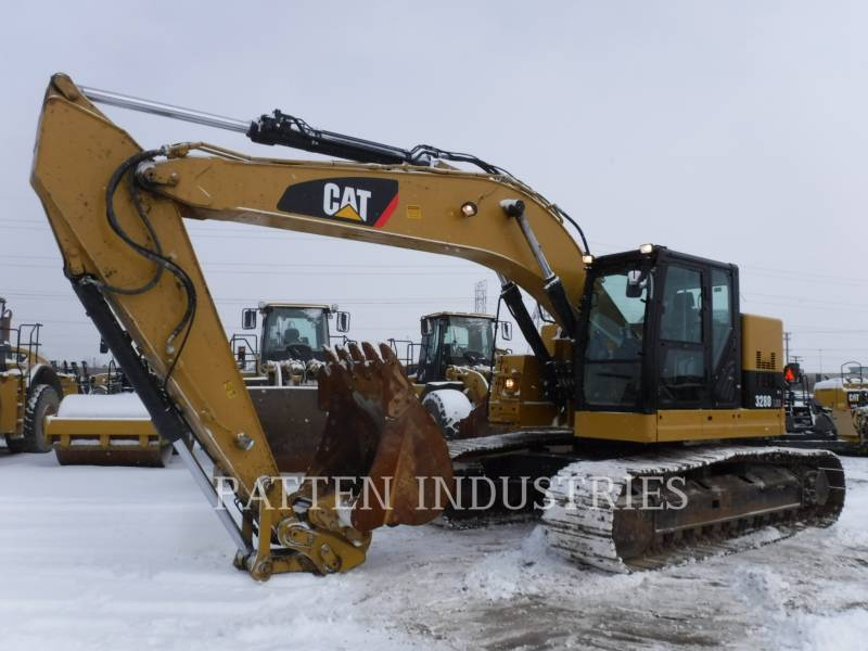 CATERPILLAR TRACK EXCAVATORS 328DL HMR equipment  photo 1
