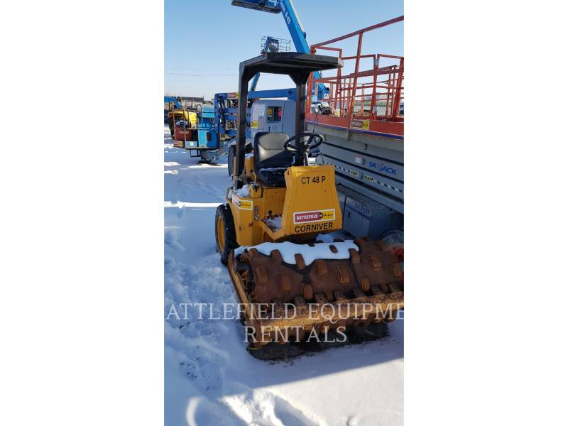 CORNIVER VIBRATORY SINGLE DRUM PAD CT48P equipment  photo 4