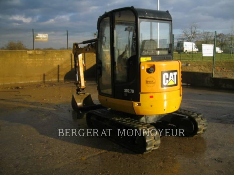 CATERPILLAR TRACK EXCAVATORS 302.7D CR equipment  photo 4