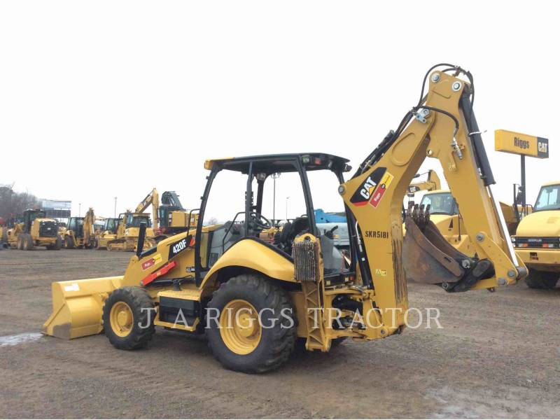 CATERPILLAR BACKHOE LOADERS 420F 4H equipment  photo 4