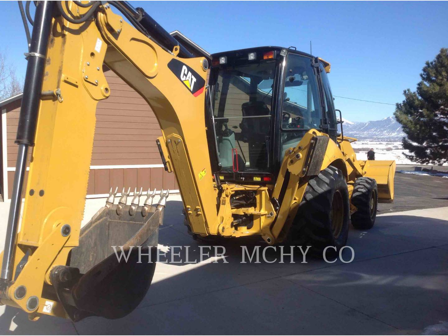 Detail photo of 2008 Caterpillar 420E from Construction Equipment Guide