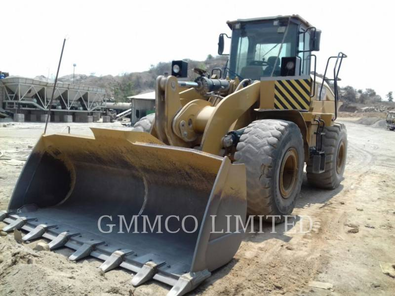 CATERPILLAR PALE GOMMATE/PALE GOMMATE MULTIUSO 950GC equipment  photo 1