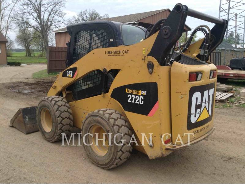 CATERPILLAR SKID STEER LOADERS 272C AQ equipment  photo 4