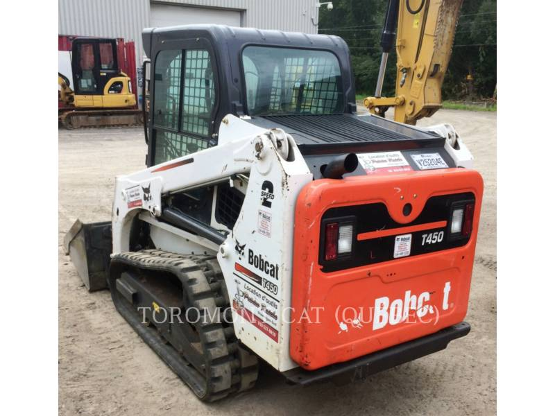 BOBCAT SKID STEER LOADERS T450 equipment  photo 2