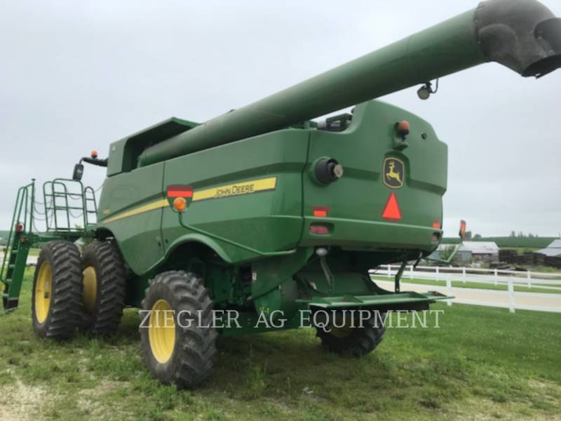 DEERE & CO. COMBINES S660 equipment  photo 5