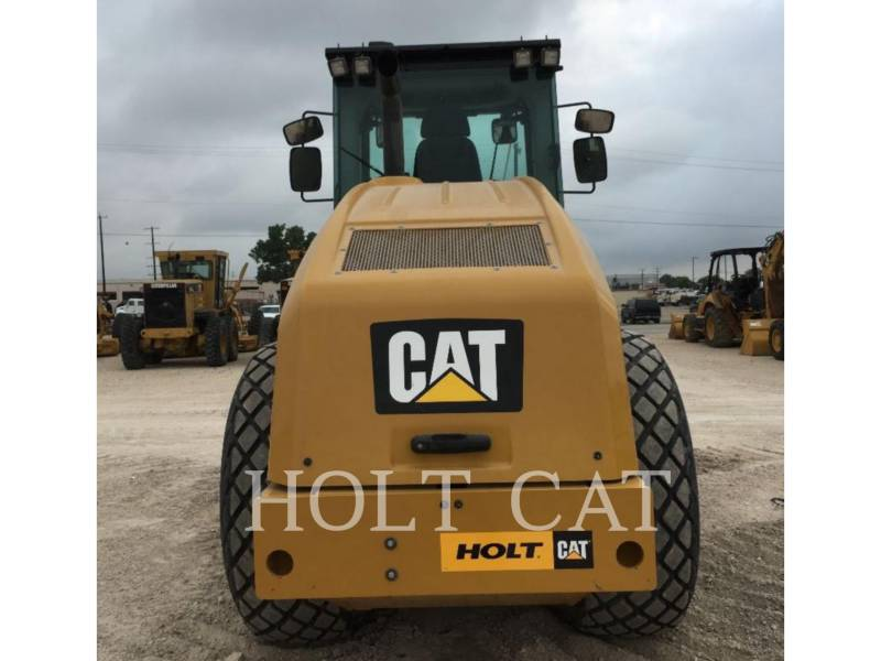CATERPILLAR EINZELVIBRATIONSWALZE, GLATTBANDAGE CS66B CAB equipment  photo 4
