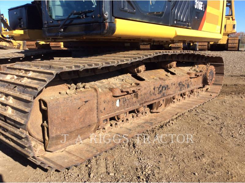 CATERPILLAR EXCAVADORAS DE CADENAS 316E 10 equipment  photo 18
