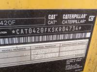 CATERPILLAR BAGGERLADER 420FST equipment  photo 5
