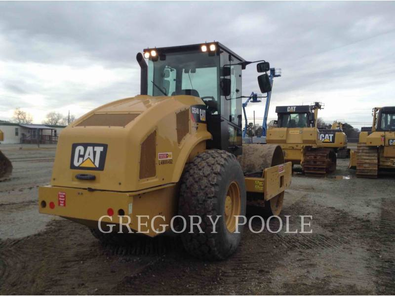 CATERPILLAR COMPATTATORE A SINGOLO TAMBURO VIBRANTE LISCIO CS54B equipment  photo 4