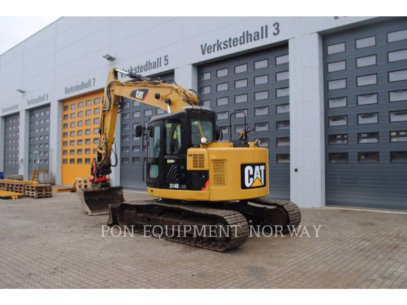 CATERPILLAR TRACK EXCAVATORS 314D equipment  photo 6