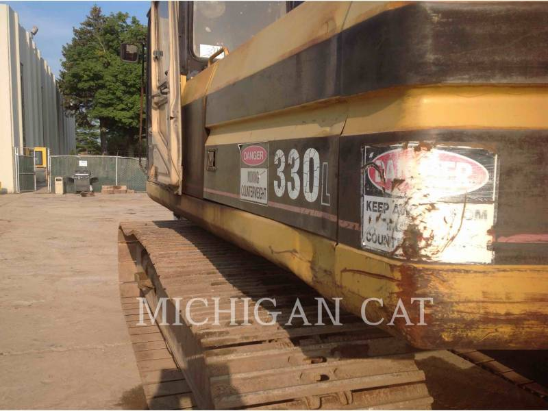 CATERPILLAR TRACK EXCAVATORS 330L equipment  photo 15