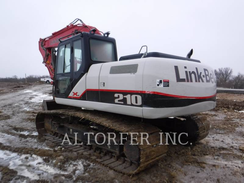 LINK-BELT CONST. TRACK EXCAVATORS 210X2 equipment  photo 4