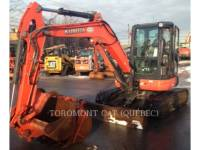 KUBOTA CORPORATION PELLES SUR CHAINES U55 equipment  photo 5