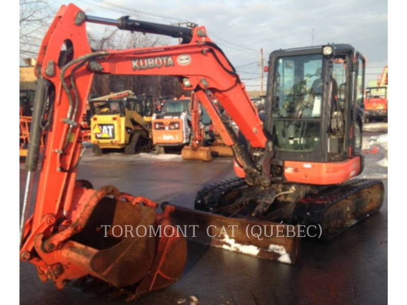 KUBOTA CORPORATION EXCAVADORAS DE CADENAS U55 equipment  photo 5