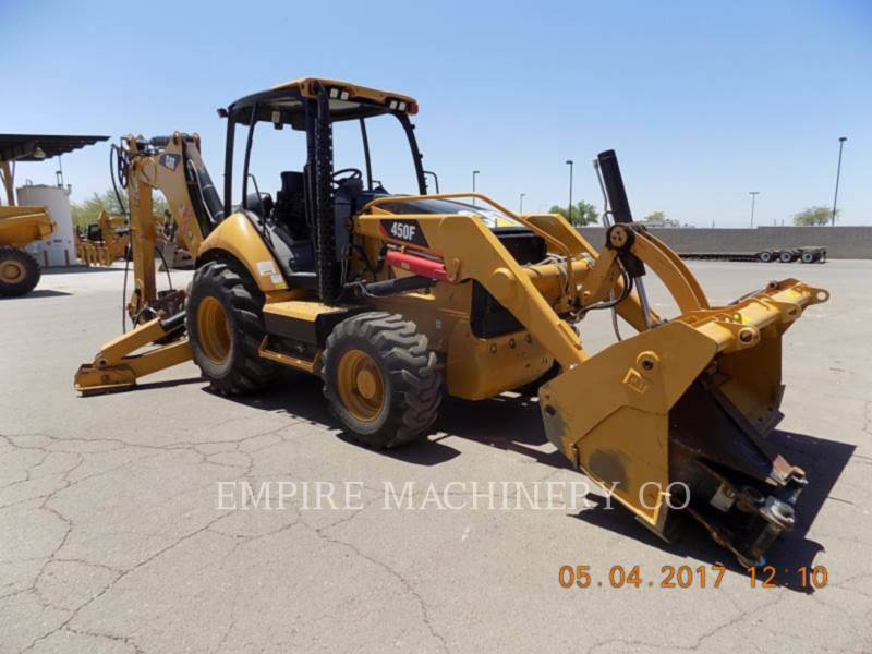 CATERPILLAR BAGGERLADER 450F 4EOMP equipment  photo 1