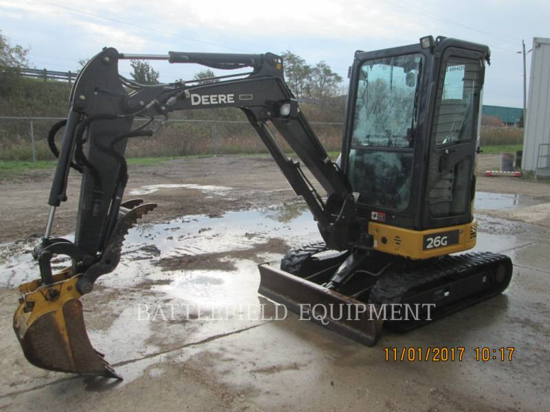 JOHN DEERE TRACK EXCAVATORS 26G equipment  photo 1