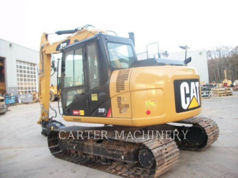 CATERPILLAR KETTEN-HYDRAULIKBAGGER 311FRR CF equipment  photo 3