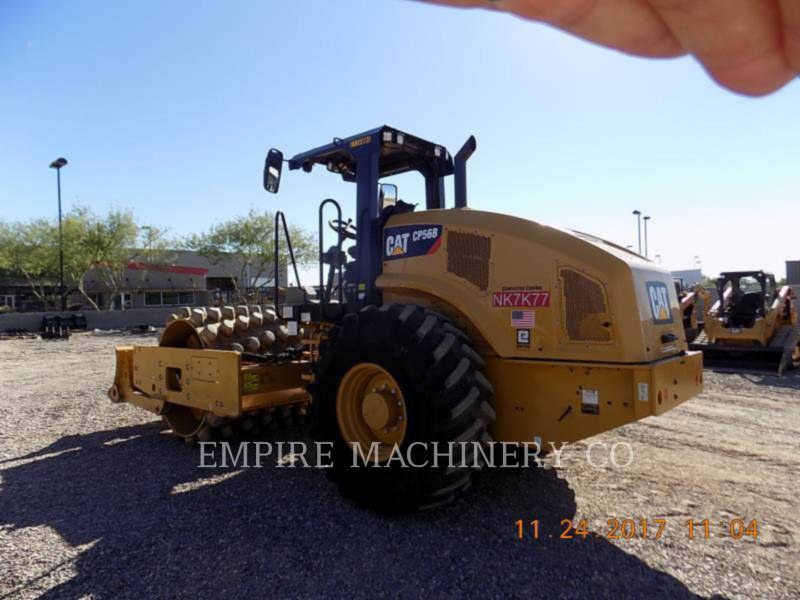 CATERPILLAR EINZELVIBRATIONSWALZE, BANDAGE CP56B equipment  photo 3
