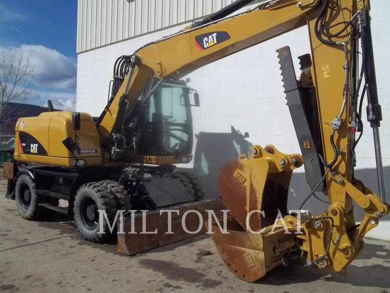CATERPILLAR PELLES SUR PNEUS M313D equipment  photo 2